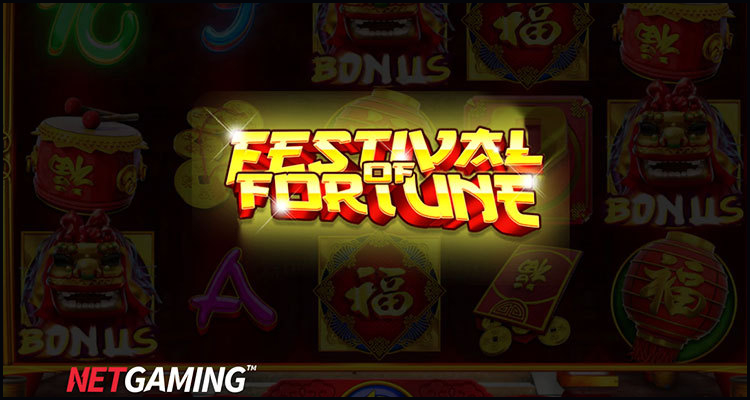 NetGaming Entertainment Limited unleashes its Festival of Fortune video slot