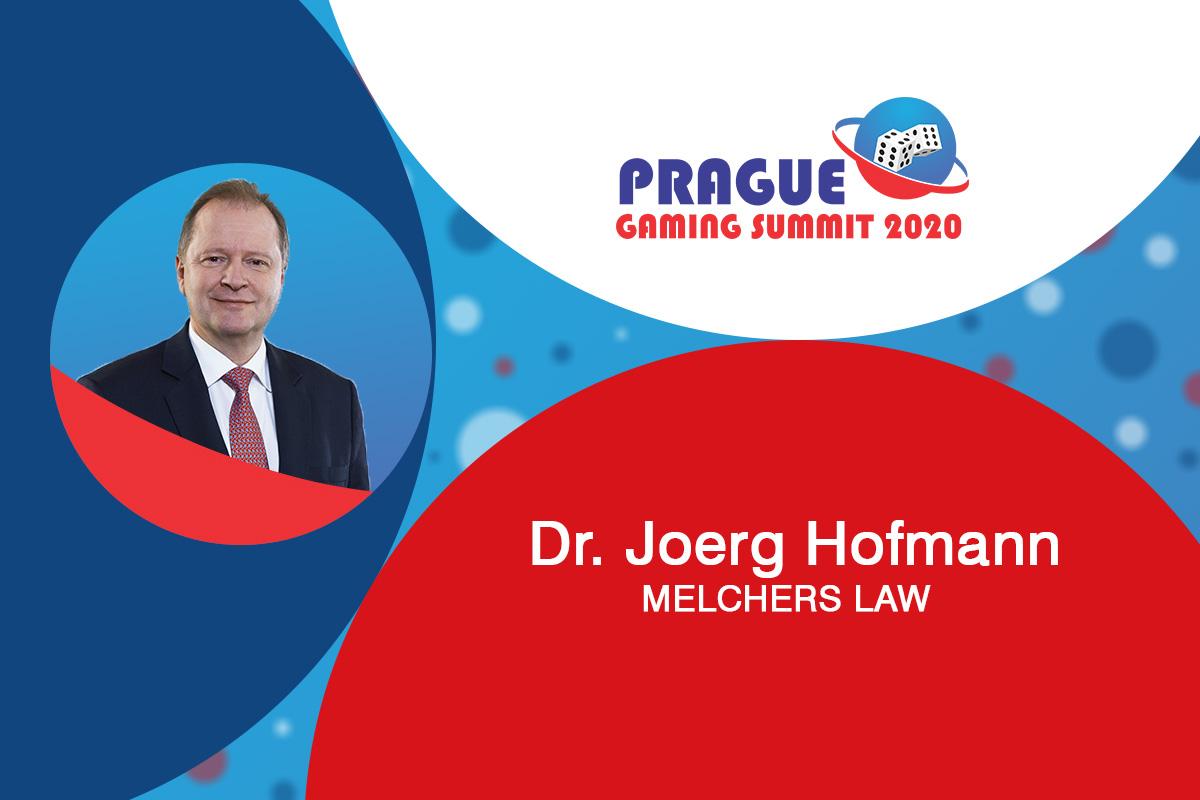 Prague Gaming Summit 2020 speaker profile: Joerg Hoffmann (Partner at MELCHERS LAW)