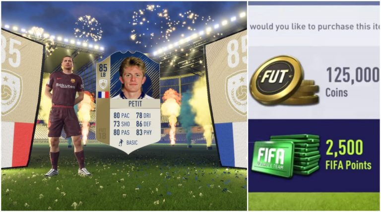 EA Sued for Using Gambling Methods in FIFA Ultimate Team Mode