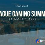 NetShop ISP, Award Winning Data Center Provider, announced as General Sponsor at Prague Gaming Summit 2020