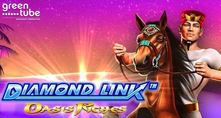 Greentube expands Diamond Link series with addition of Oasis Riches online slot game