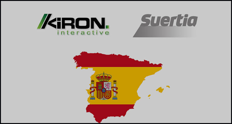 Kiron Interactive increasing its Spanish presence via Suertia.es alliance