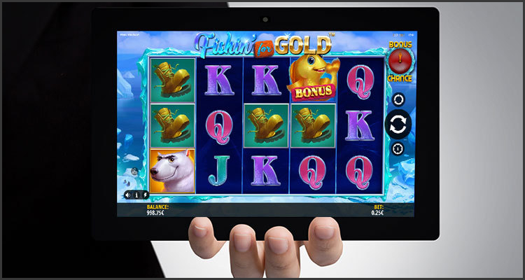 iSoftBet inviting video slot aficionados to go Fishin' for Gold