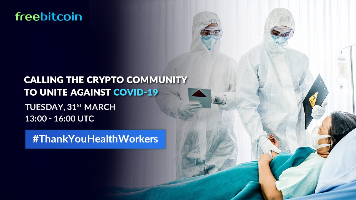 COVID-19: Health Workers Battle Amidst Shortage, Crypto-Community Steps Up to Help