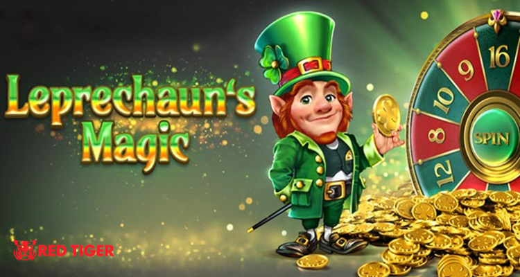 Red Tiger Gaming announces new online slot game Leprechaun's Magic