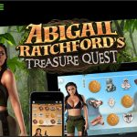 Abigail Ratchford's Treasure Quest video slot debuted by MGA Games