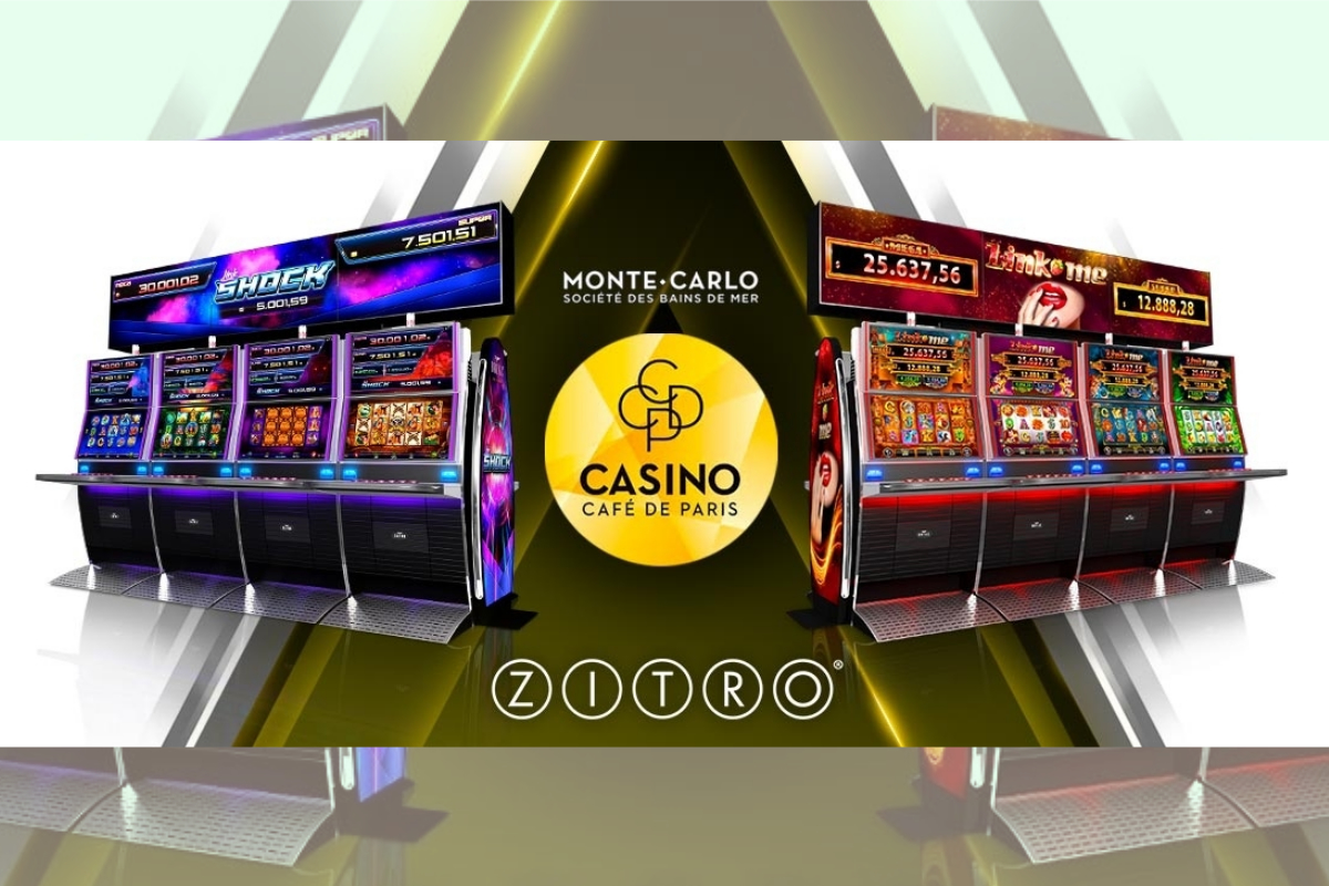 Casino Cafè De Paris In Monaco Expands Its Offer With Zitro's Link Me And Link Shock