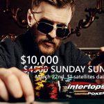 Intertops Poker increases Sunday Sundowner tournament to $10k guarantee; with daily $1 satellites