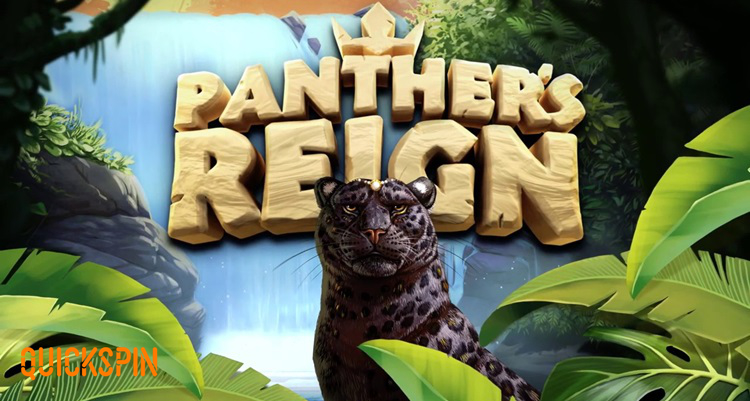 Quickspin welcomes players to the jungle with its new slot Panther's Reign