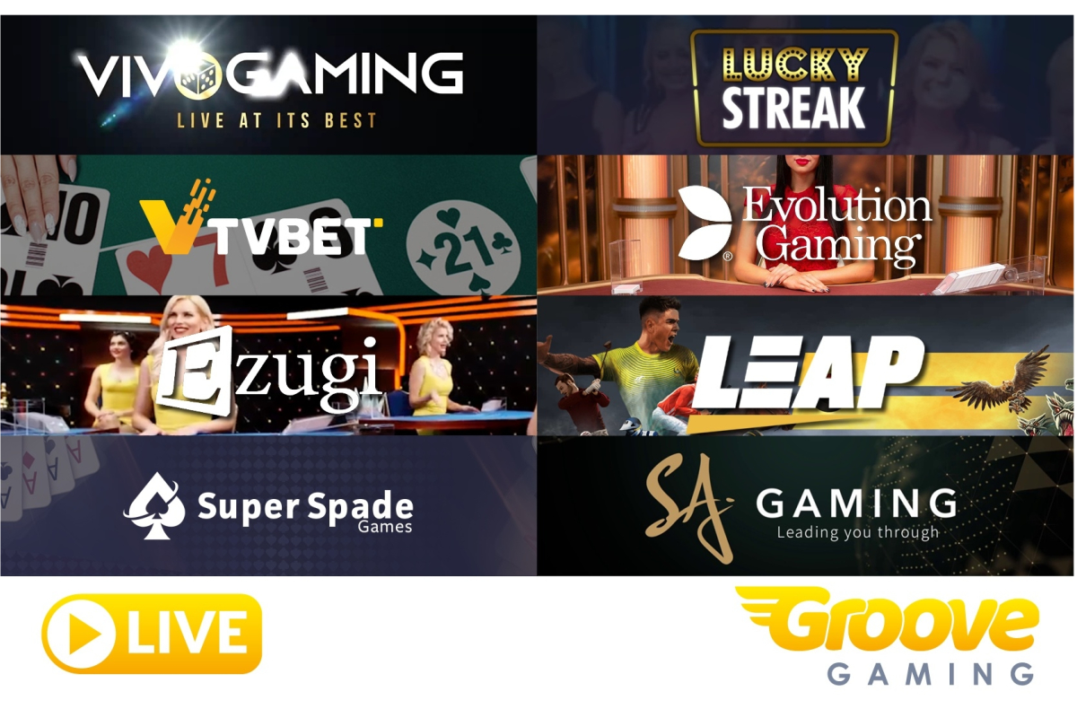 GrooveGaming reports rapid uptake of live content and virtual sports