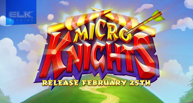 Follow an intense quest in Elk Studios new online slot game Micro Knights