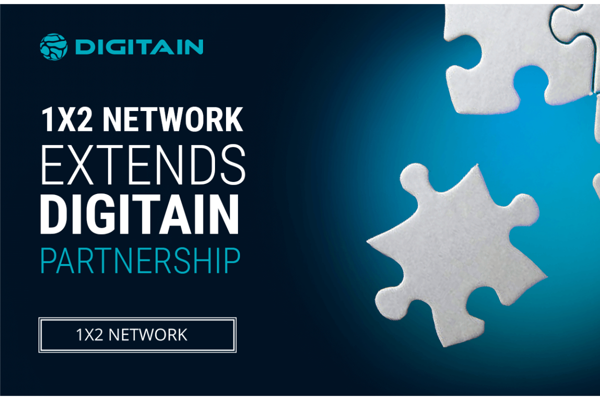 1X2 Network Extends Contract with Digitain