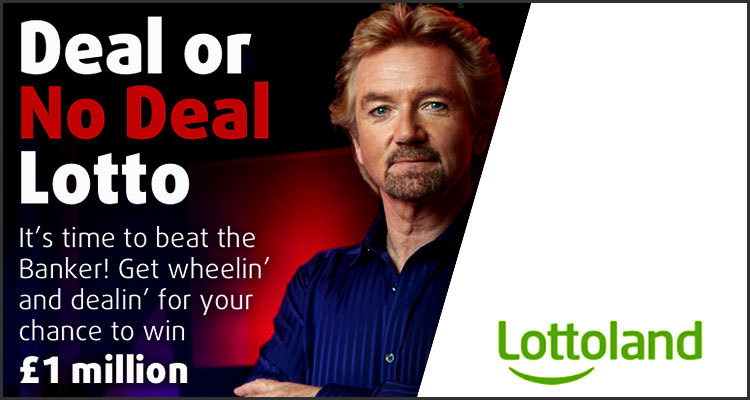 Deal or No Deal Lotto premiered by Lottoland Limited