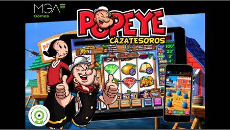MGA Games sets sail with new Popeye Cazatesoros video slot