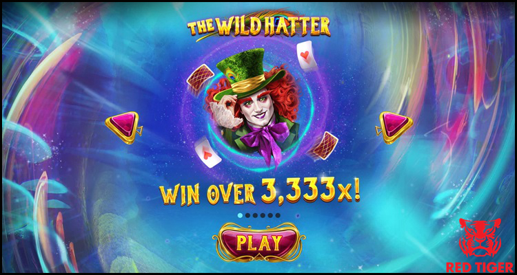 Red Tiger Gaming Limited releases 'psychedelic' The Wild Hatter video slot