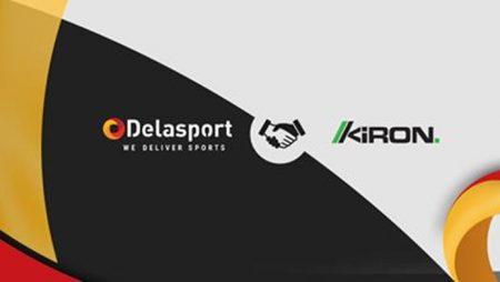 Delasport to serve as Kiron Interactive's new Virtual Sports Provider