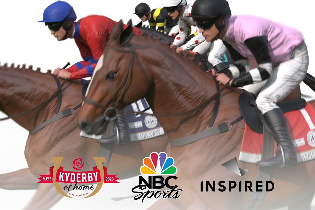 Inspired to stage virtual Kentucky Derby