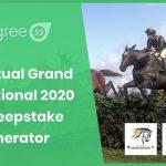 Degree 53 announce new Virtual Grand National sweepstake generator