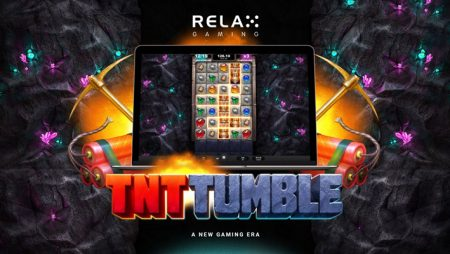 Relax Gaming releases dynamite TNT Tumble slot, third game in the Tumble series