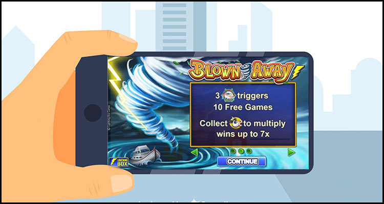 Maritime fun with new Blown Away video slot from Lightning Box Games