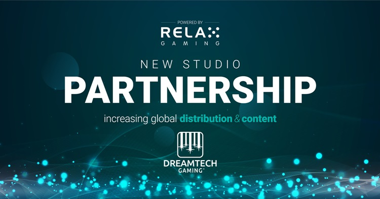 Relax Gaming expands its Powered By partner network via DreamTeach Gaming content deal