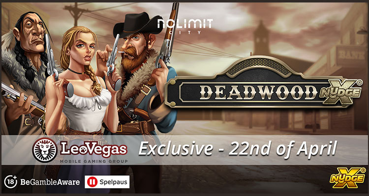 Nolimit City premiers Deadwood xNudge exclusively on LeoVegas