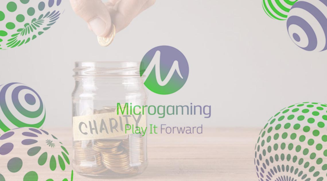 Microgaming's PlayItForward Initiative Is Supporting Charities Worldwide