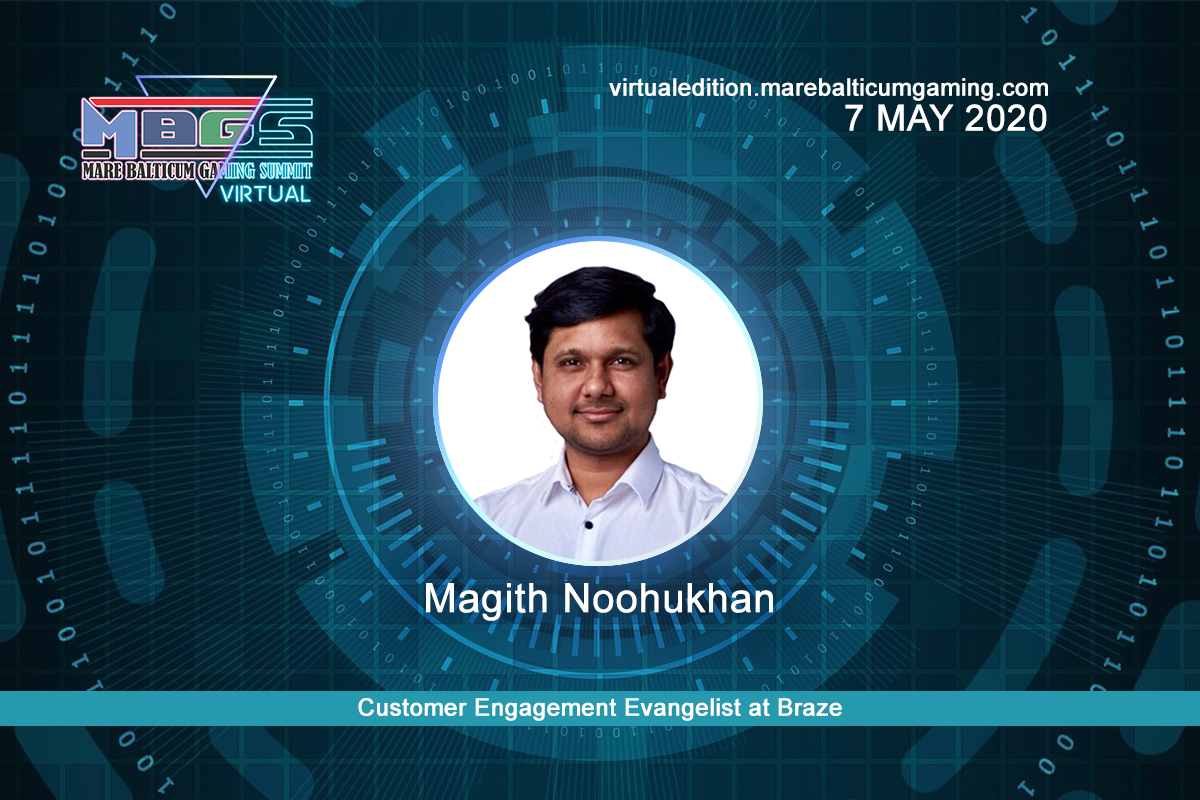 #MBGS2020VE announces Magith Noohukhan, Customer Engagement Evangelist at Braze among the speakers