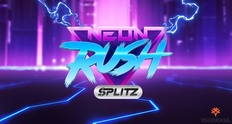 Yggdrasil Gaming launches second Splitz title with its enticing Neon Rush video slot