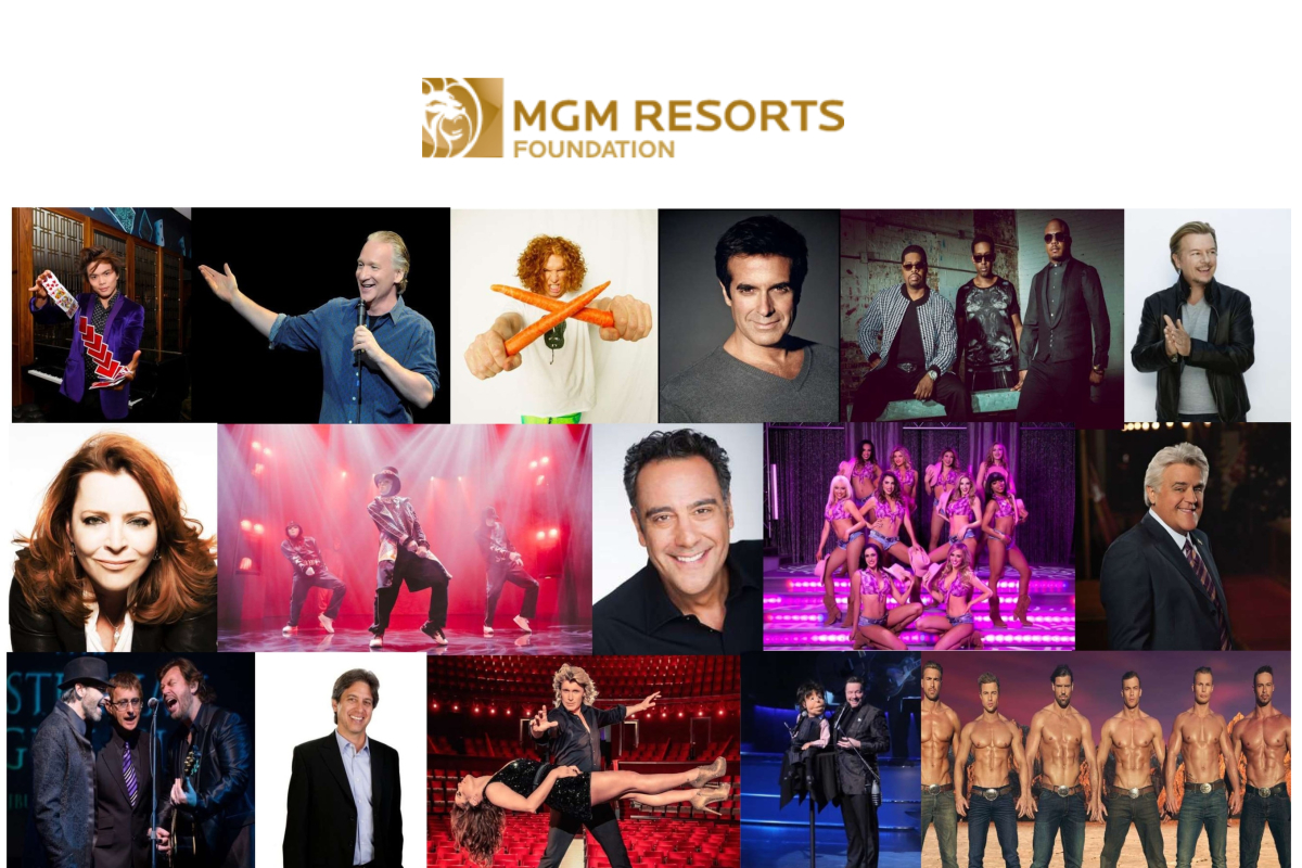 MGM Resorts' Entertainment Partners Unite In Unprecedented Support For Company's Employees During Covid-19 Crisis