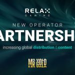 Relax Gaming signs new operator partnership with online casino Mr Gold