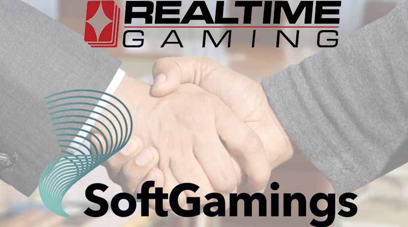 Realtime Gaming Has Partnered with SoftGamings
