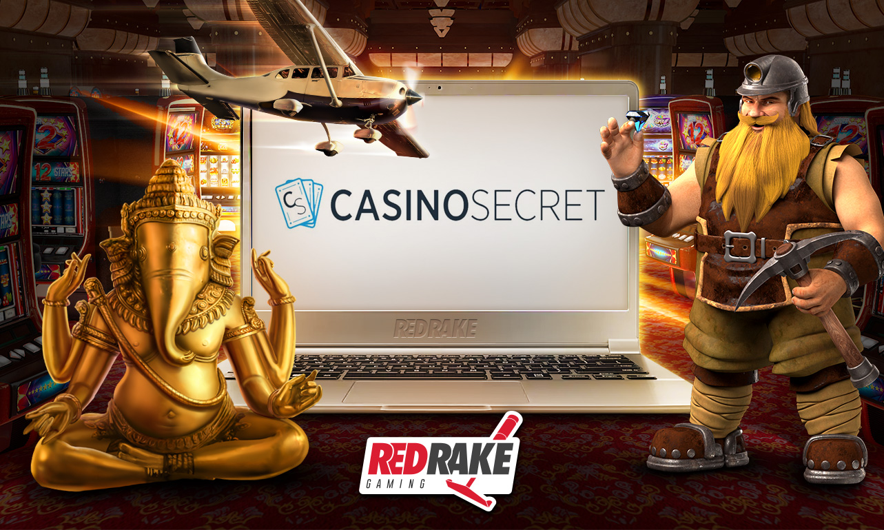CasinoSecret partners with Red Rake Gaming