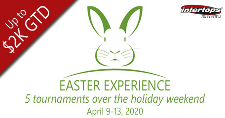 Intertops Poker hosts special Easter Experience poker tournament series