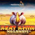 Pragmatic Play Limited extols new Great Rhino Megaways video slot