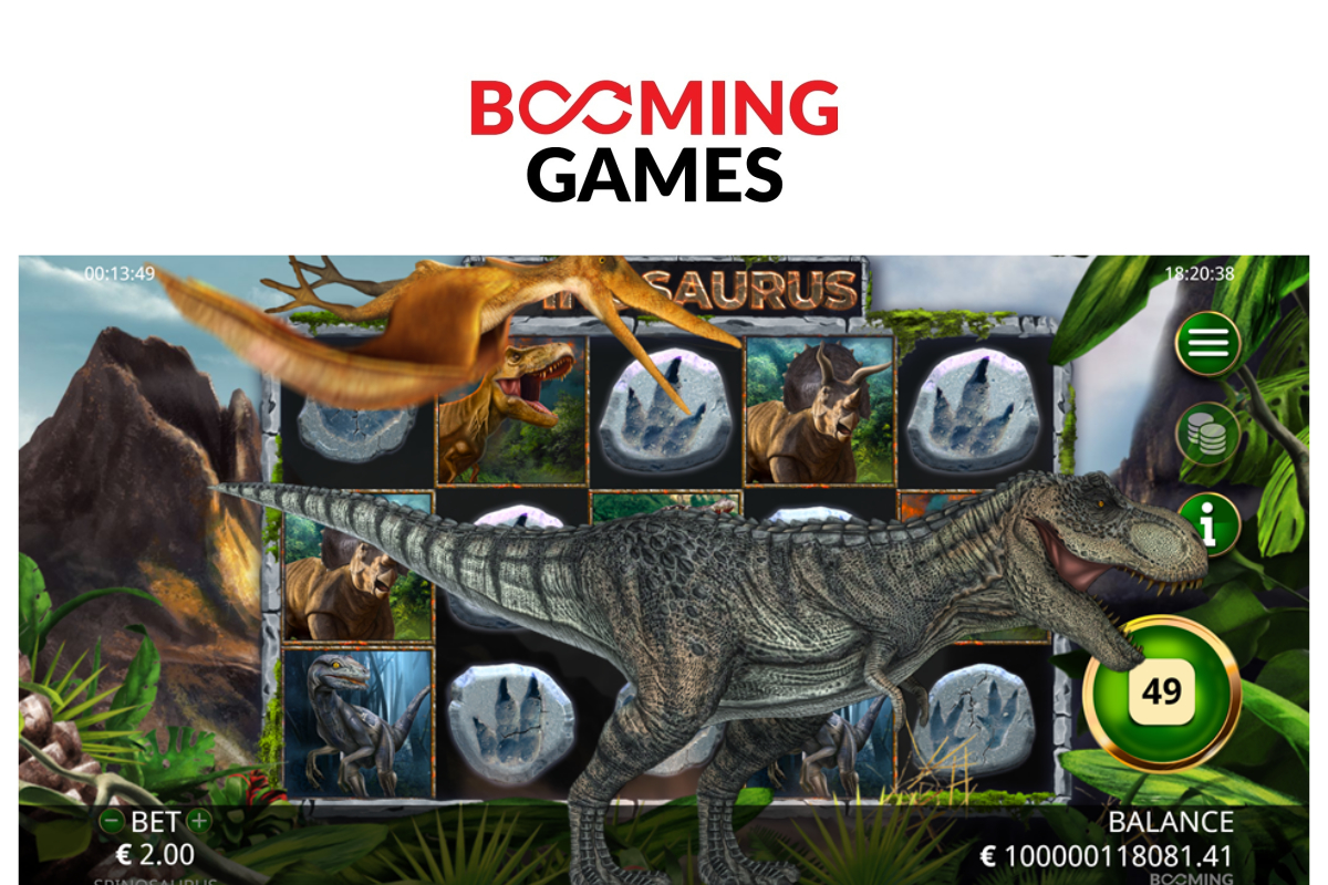 Booming Games launch Spinosaurus