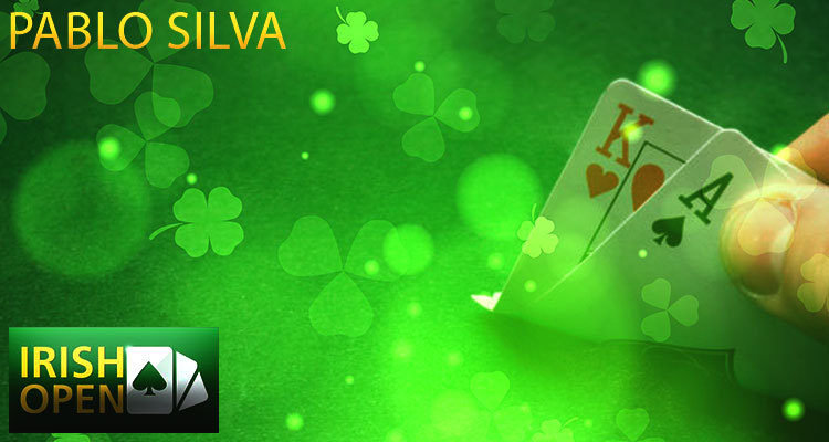 Irish Open Online Main Event Finishes Up with Pablo Silva Claiming the Title Win