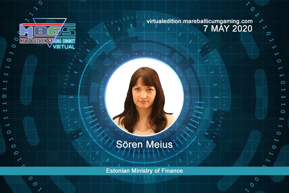 #MBGS2020VE announces Sören Meius, Estonian Ministry of Finance among the speakers