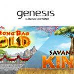 Genesis Gaming Inc. launches Da Hong Bao Gold, a sequel to Da Hong Bao, and Savanna King XL for high rollers!