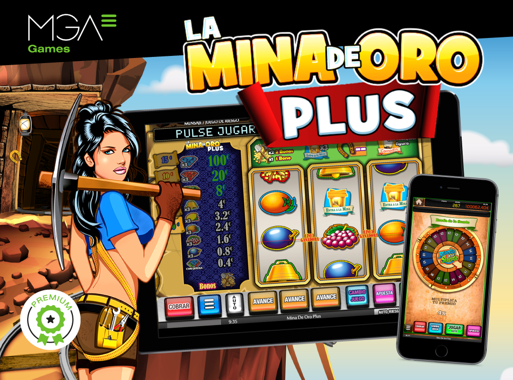 Release of La Mina de Oro Plus, the premium version of the bestseller by MGA Games