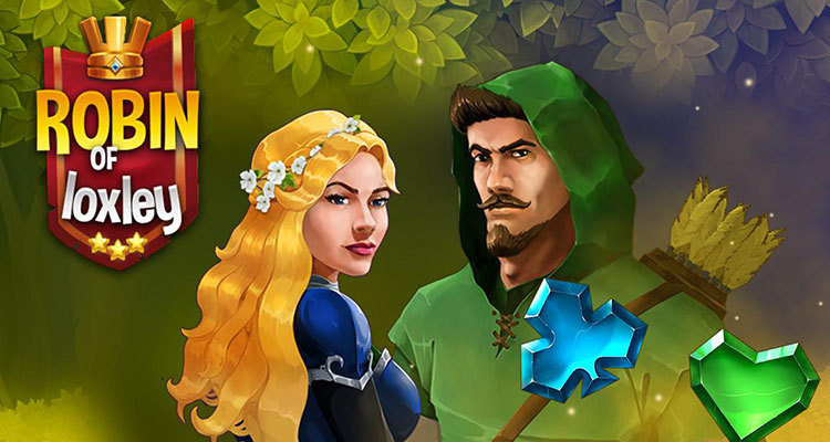 Mascot Gaming features the legendary heroic outlaw in new online slot game Robin of Loxley