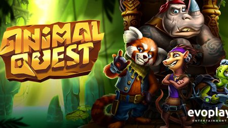 Evoplay Gaming releases new jungle-themed video slot Animal Quest