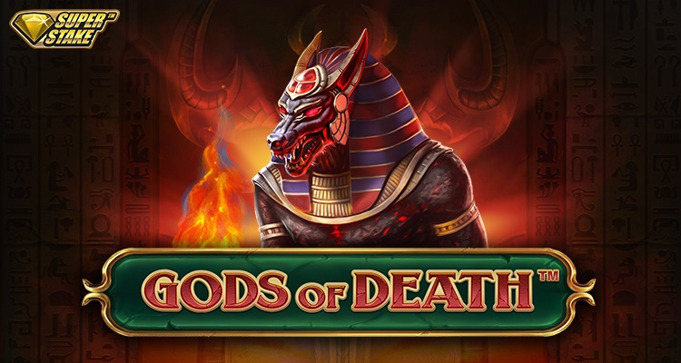 Journey to the treasure-filled inner sanctum of the Egyptian Gods in Stakelogic's God's of Death