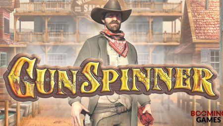 """Booming Games' new video slot GunSpinner has """"huge wins"""" potential!"""