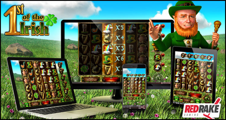 Red Rake Gaming debuts new 1st of the Irish video slot