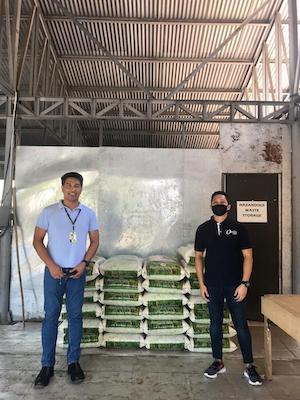 Ortiz Gaming food aid for the Philippines