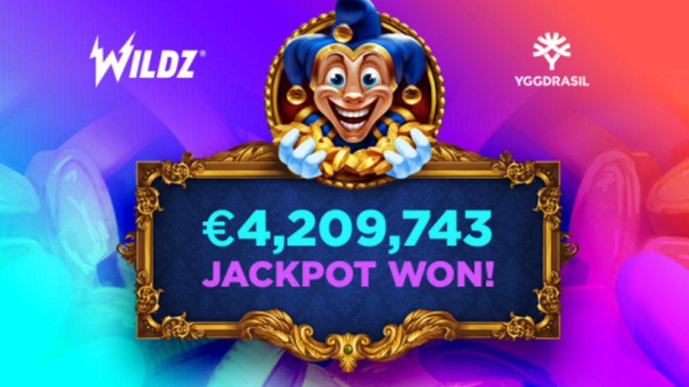 Wildz player lands €4.2m jackpot on Yggdrasil's Empire Fortune slot