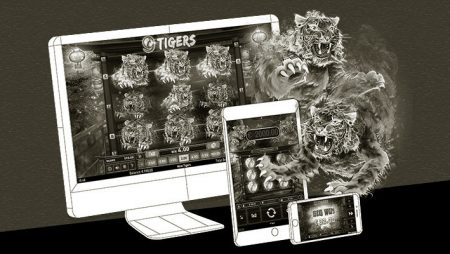 Online slot 9 Tigers now available via Wazdan's partner casinos