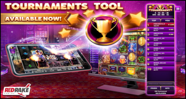 Red Rake Gaming premieres new progressive tournaments tool