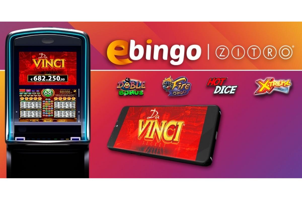 Zitro Launches New Games On EBINGO.ES
